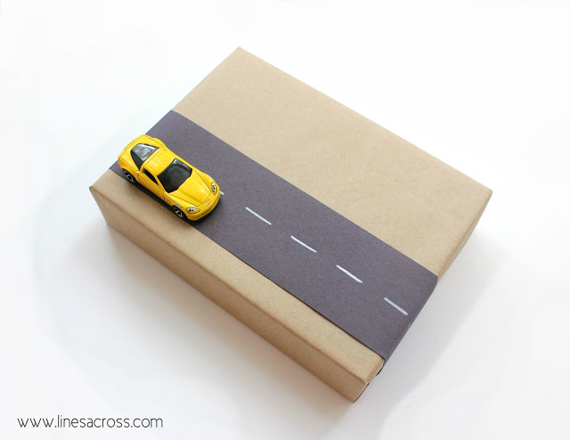 Car Road Gift Wrapping