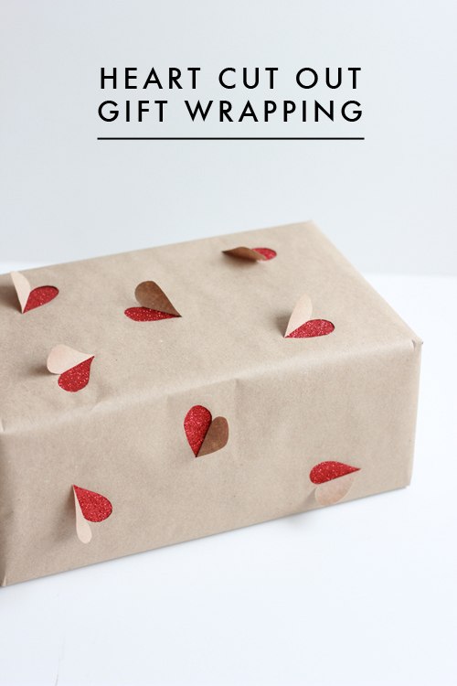 Heart Cut Out Gift Wrappings