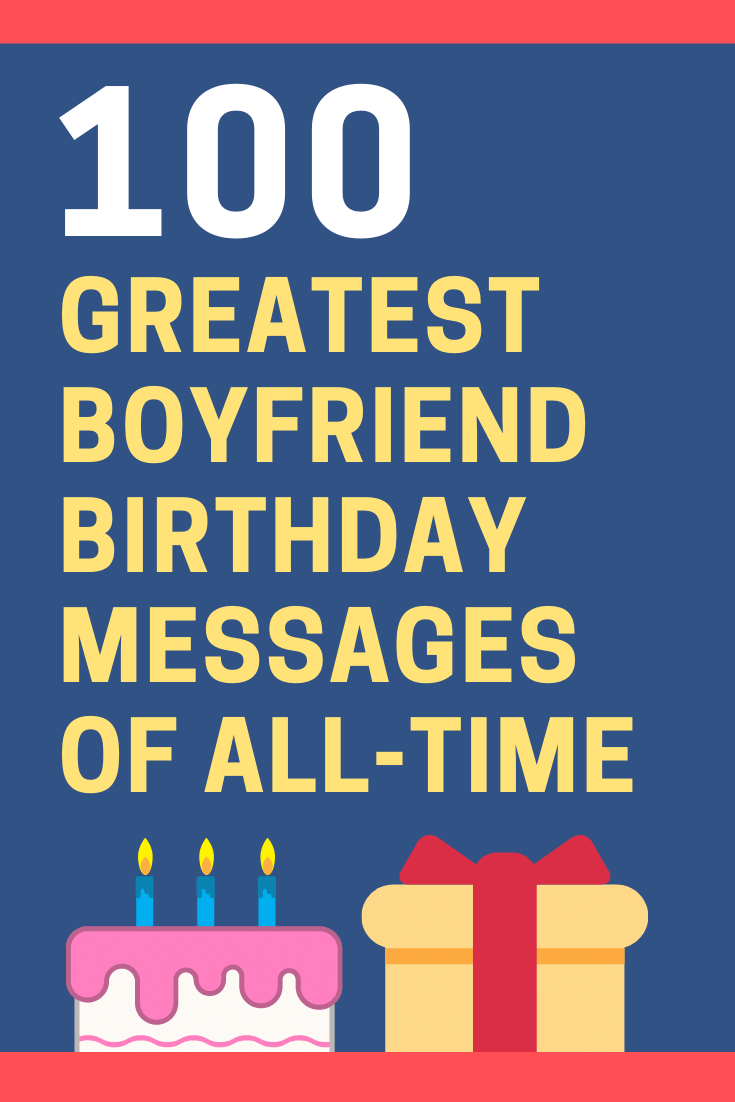Boyfriend Birthday Messages