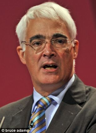 Former Labour Chancellor Alistair Darling said the party had to