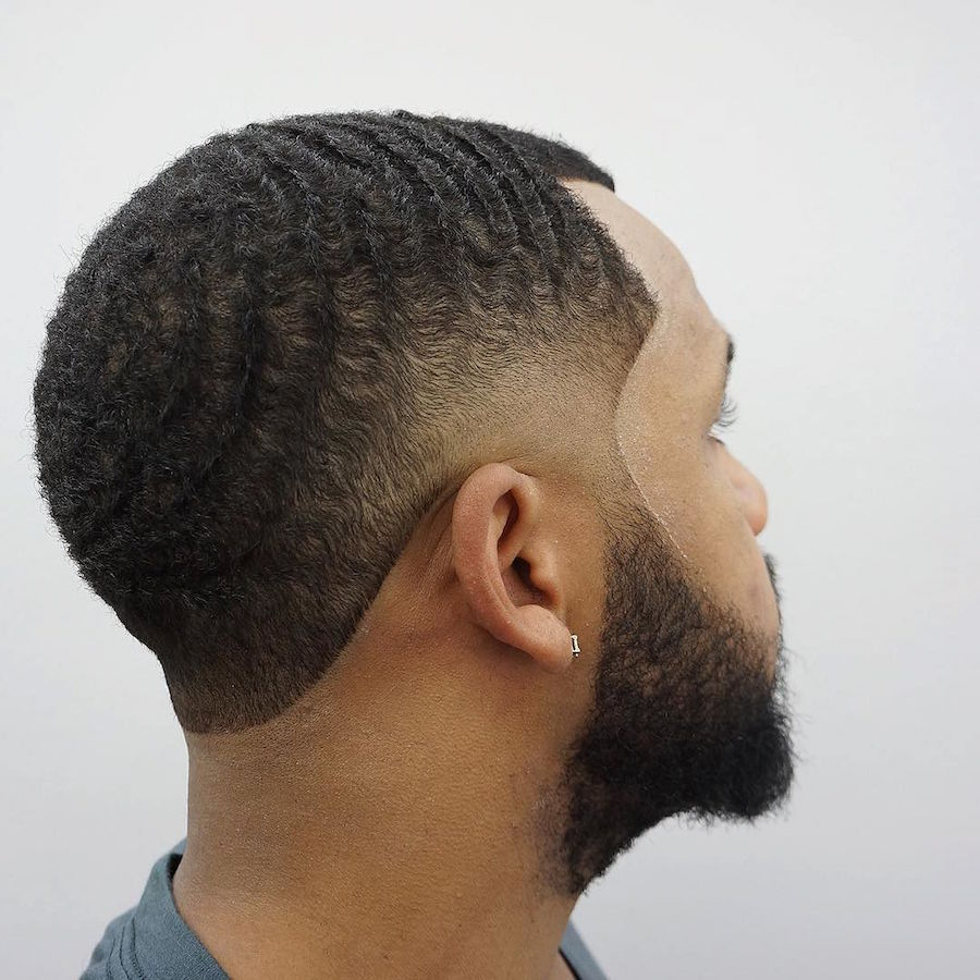 criztofferson_and waves and taper fade haircut