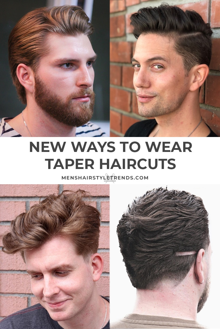 taper haircuts for men a classic look