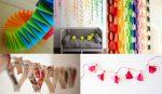 Как из бумаги сделать новогоднюю гирлянду – Гирлянда из бумаги на новый год