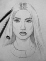 Как нарисовать лицо девушку поэтапно карандашом – Портрет девушки карандашом поэтапно для начинающих