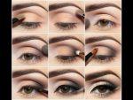 Уроки макияжа для начинающих пошагово фото для карих глаз – 32 фото для начинающих и видео уроки