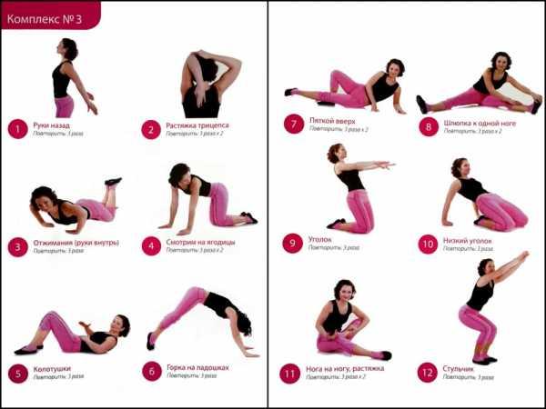Бодифлекс система упражнений