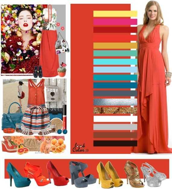 a43ebde1103cf Коралловый персиковый, нежный и лёгкий, воздушный оттенок, способным любой  одежде придать праздничный вид. Его могут выдержать либо смуглые красотки,  ...