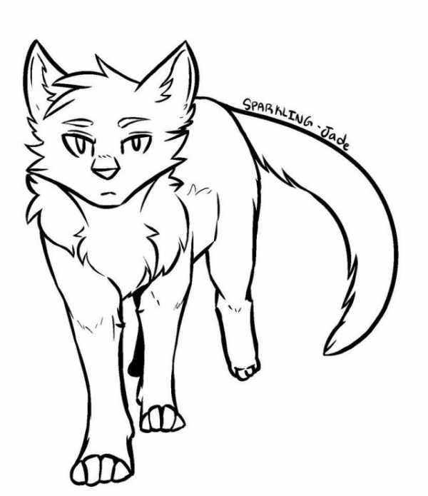 Картинки для срисовки котики няшки – Ой!