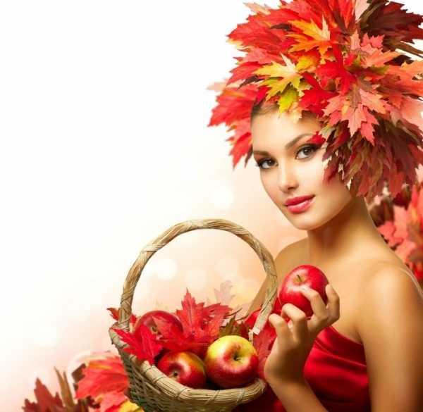Красивые картинки девушка и осень – фотографии и картинки ...  Девушка Осень Рисунок
