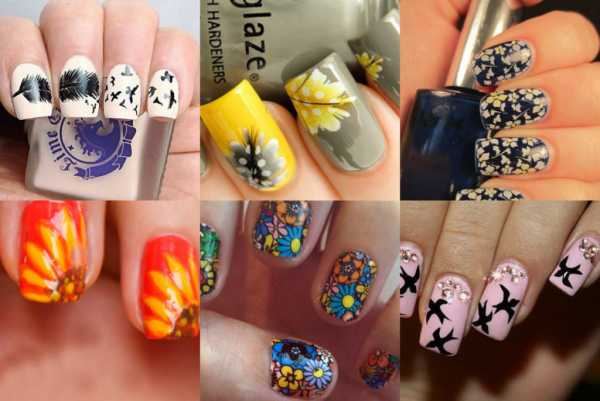 Ногти с осенними листьями фото – 100+ красивых идей ...