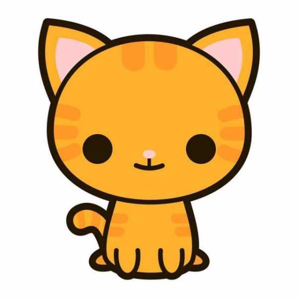 Рисунки с котиками для срисовки – Картинки кошек для срисовки ...