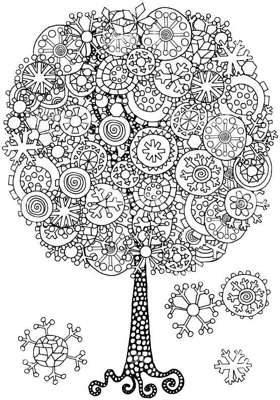 Шаблоны деревья для аппликации – Раскраска ДЕРЕВО (65 ...
